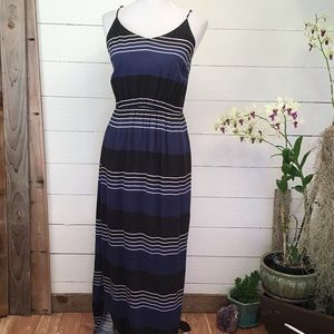 Old Navy Maxi Dress w/ Side Slits Spaghetti Strap